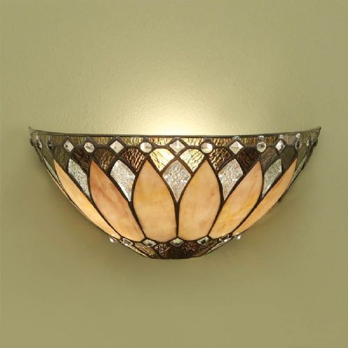 Brooklyn Wall Light (Art Deco) T048W (Tiffany style)